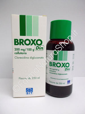 BROXO DIN 200 mg / 100 g collutorio