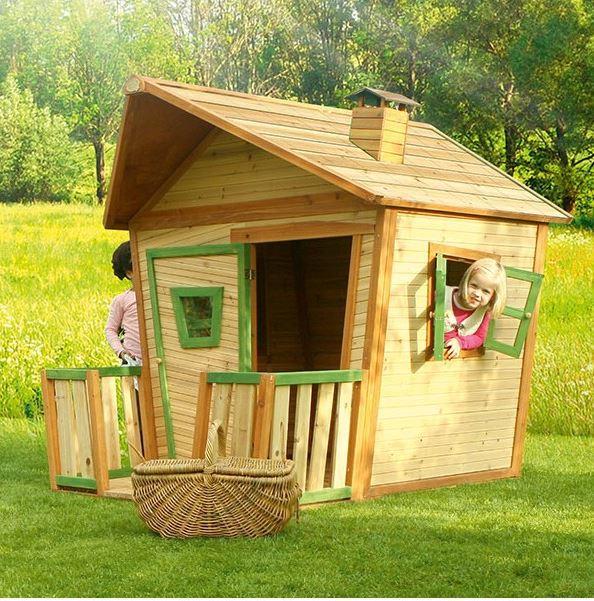 Casetta legno casetta bambini casetta bimbo casetta da for Cedro agitare piani di casa
