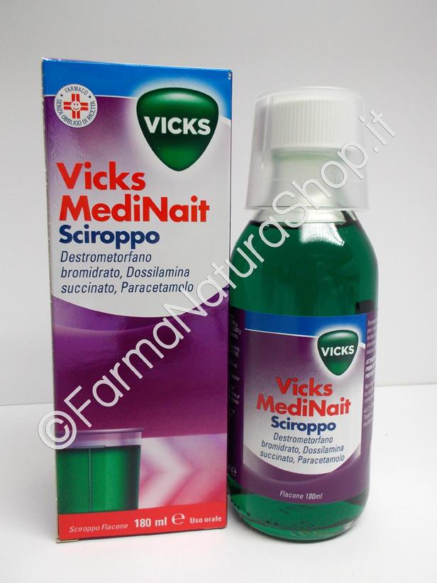 VICKS Medinait sciroppo 180 ml