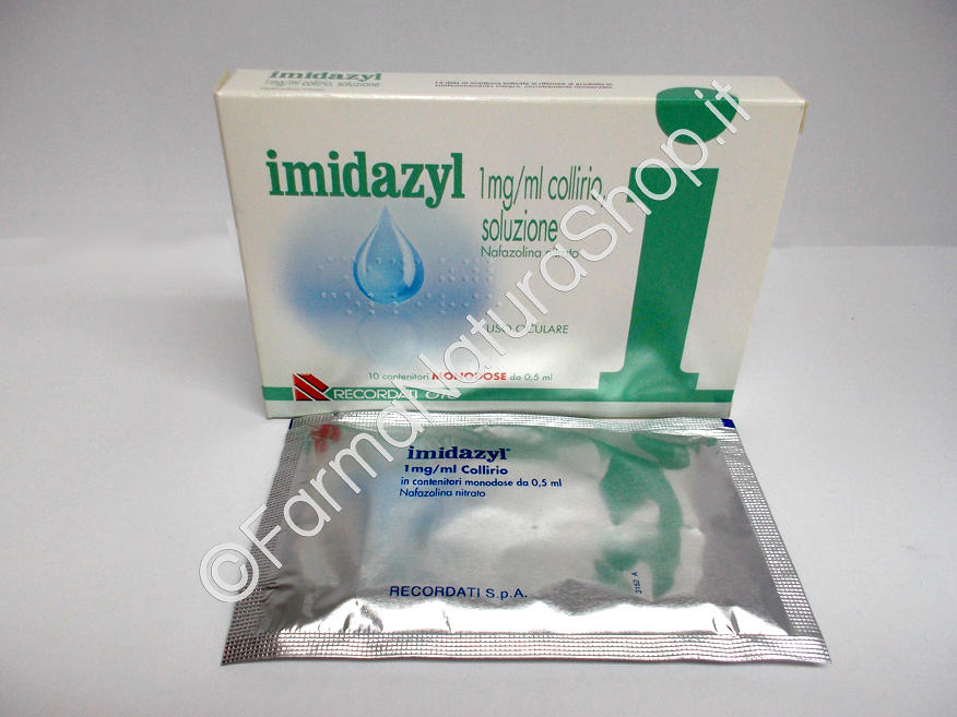 IMIDAZYL 1 mg / ml collirio