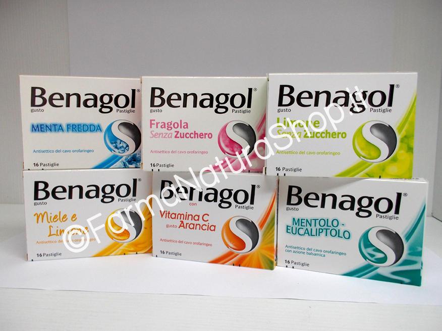 BENAGOL 1,2 mg + 0,6 mg Pastiglie