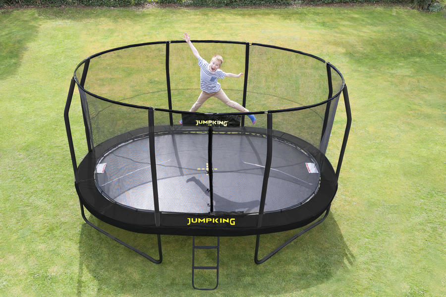 Trampolino elastico ovale per gioco e fitness Jumpking OvalPOD  -  NEW VERSION