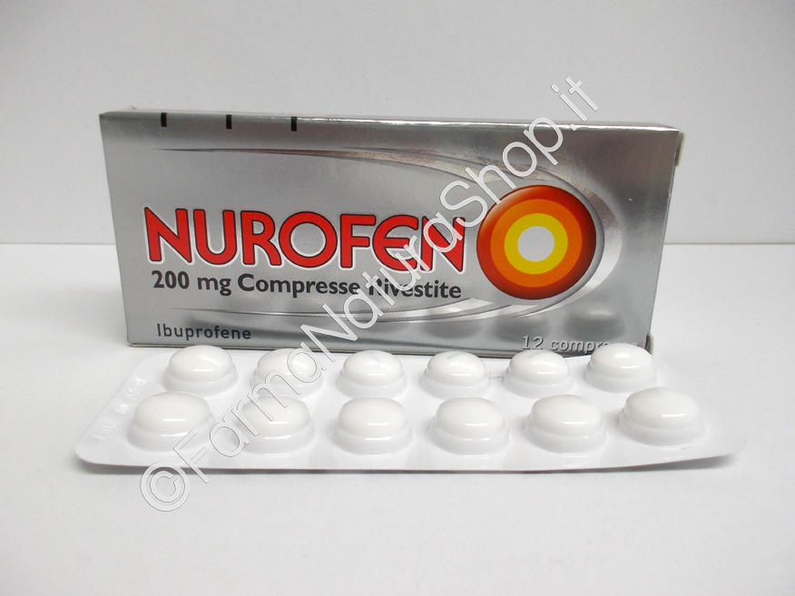 NUROFEN 200 mg compresse rivestite