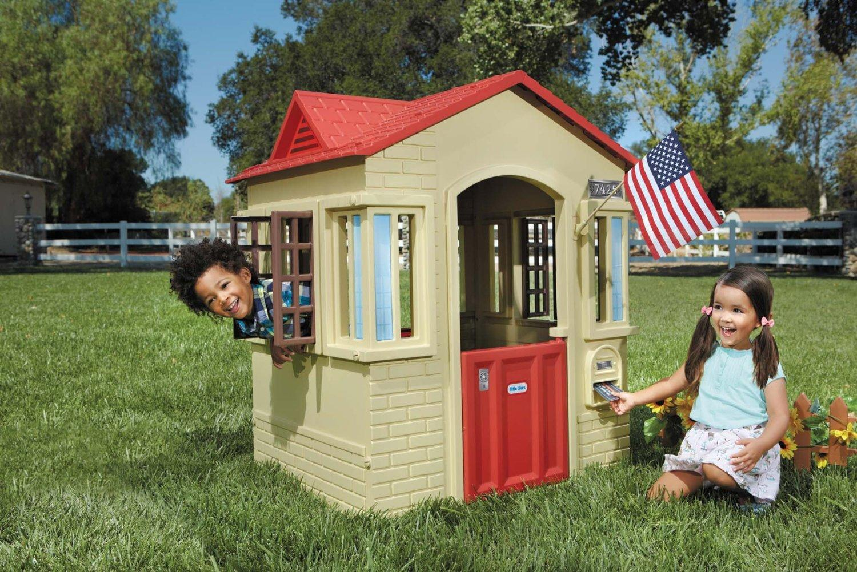 Casetta little tikes cape cottage 9037902 da 3 a 7 anni di for Piani di casa in stile cottage cape cod