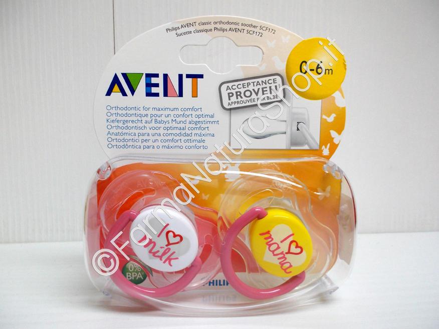 AVENT Succhietti classici 0-6 mesi