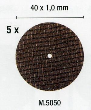 PG M5050 10 DISCHI DA TAGLIO D.40X1,0 RINFORZ.