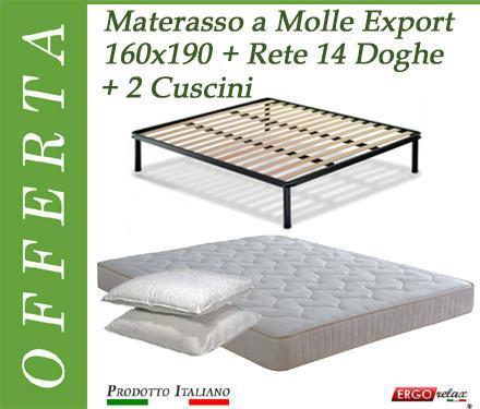 Rete A Doghe Matrimoniale Per Materasso 160x190 Affare Modern Techniques Arredamento
