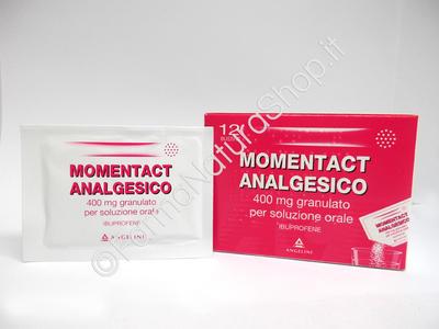 MOMENTACT ANALGESICO granulato per soluzione orale