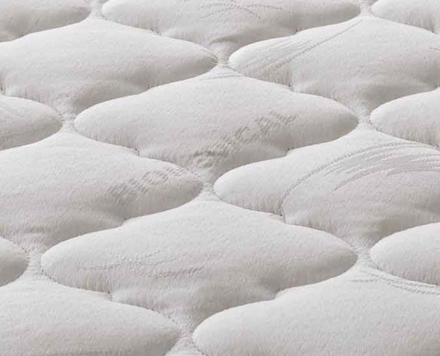 Materasso a Molle Bonnell Mod Primavera Matrimoniale da Cm 160x190/195/200 Puro Cotone Fascia TreD Altezza Cm. 21 - Ergorelax