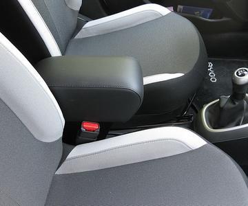 Bracciolo con portaoggetti per Peugeot 108