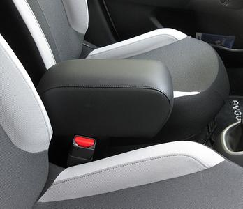 Adjustable armrest with storage for Peugeot 108