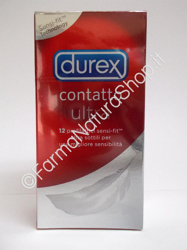 DUREX PROFILATTICI CONTATTO ULTRA 12 PEZZI