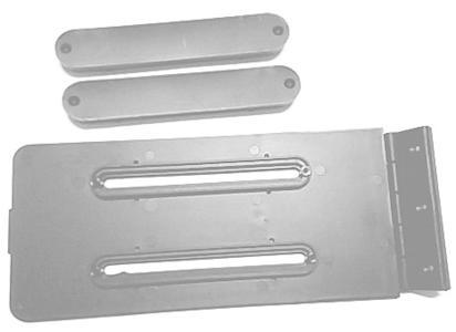 Ricambio meccanismo scorrevole per braccioli serie GX