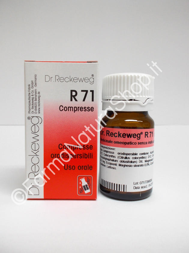 DR. RECKEWEG R71 Compresse
