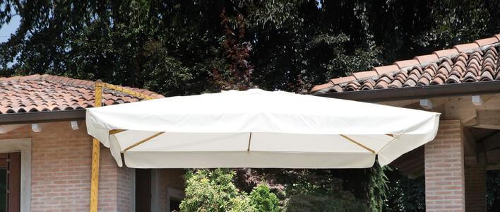 Ricambio copertura ombrelloni misura 3 x 3 per ombrelloni 5012 e 5011 e 5023 greenwood colore ECRU