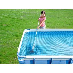 Aspiratore pulitore idromassaggio INTEX 28620 spa piscine fuori terra portatile ricaricabile