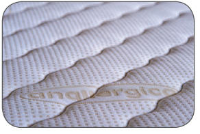 Materasso Molle Insacchettate Mod. Prometeo da Cm 150 Fodera Anallergica Sfoderabile Antiacaro - ErgoRelax