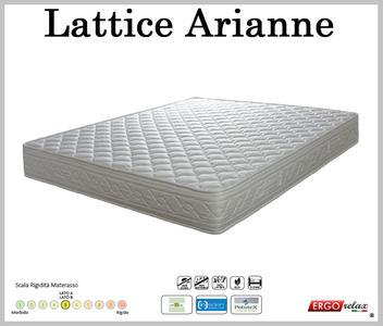 Materasso Lattice Mod. Arianne da Cm 150 Zone Differenziate Fodera Cotone Altezza Cm. 18 - Ergorelax