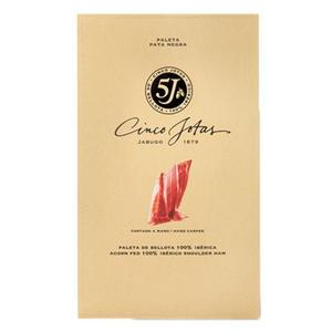 pack affettato paleta iberica di bellota 5j in 80 gr 12 buste peso aprox 0,960 kg