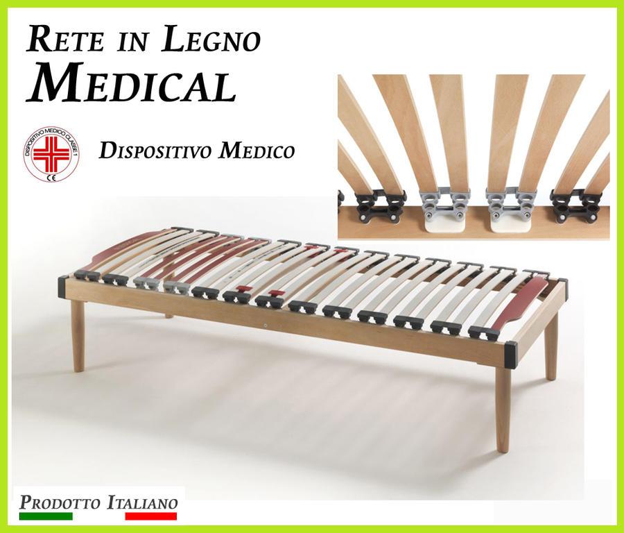Rete in Legno Medical a Doghe di Legno Ampia scelta di Misure Presidio Medico Prodotto Italiano