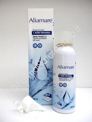 ALIAMARE SPRAY Acqua di Mare Isotonica + Acido Ialuronico