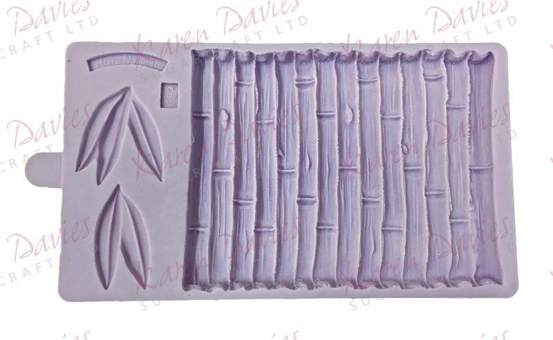 stampo silicone effetto bamboo  Karen Davies