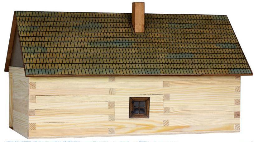 Costruzioni in Legno Naturale Maso Contadino di Walachia Kit da 174 Pezzi