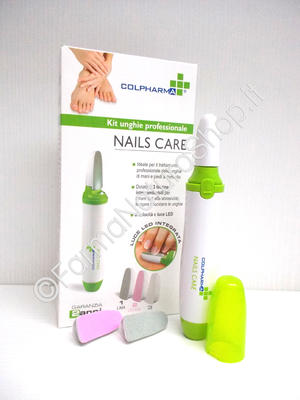 COLPHARMA NAILS CARE Kit Unghie Professionale