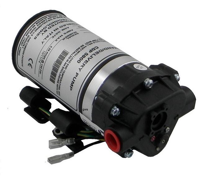 Pompa booster Aquatech a membrana con attacchi filetto 3/8