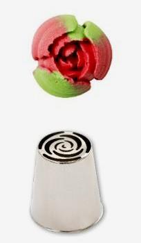 Cornetto fiore diretto bocciolo di rosa n. 243