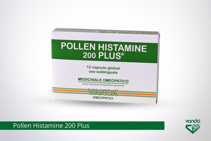 POLLEN HISTAMINE 200 Plus Globuli