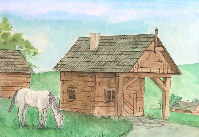 Costruzioni in Legno Naturale La Forgia di Walachia Kit da 86 Pezzi
