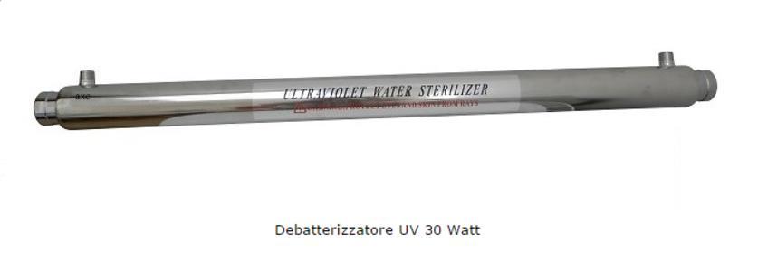 Debatterizzatore Ultravioletti 30Watt.