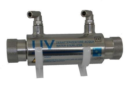 Debatterizzatore ultravioletti 4 watt.