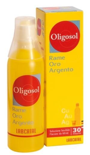 LABCATAL Oligosol Rame-Oro-Argento