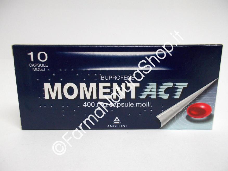 MOMENTACT Capsule Molli 400 mg