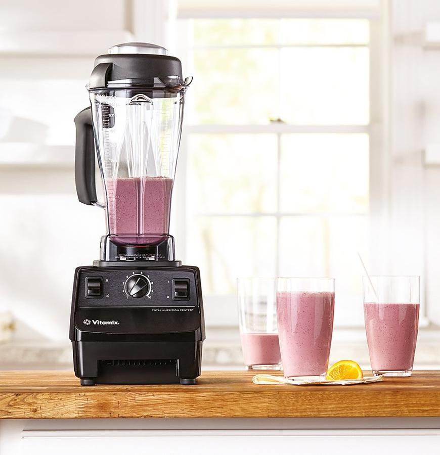 Frullatore PROFESSIONALE Vitamix Total Nutrition Center VTX TNC 5200 BK colore NERO