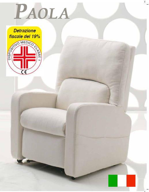 Poltrone relax scontate alzapersone per disabili for Poltrone relax amazon