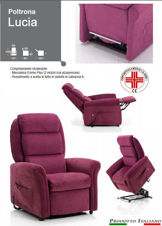 Poltrone Reclinabili. Good Poltrona Relax Lisa With Poltrone ...