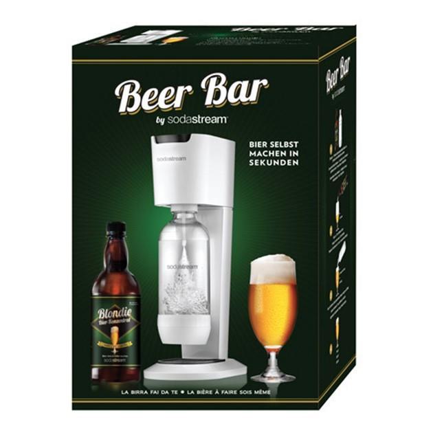 Gasatore sodastream BEER BAR per fare la birra in casa da soli