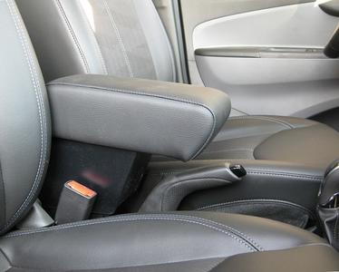 Adjustable armrest with storage for Opel Karl
