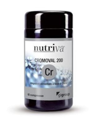 NUTRIVA CROMOVAL 200 Compresse