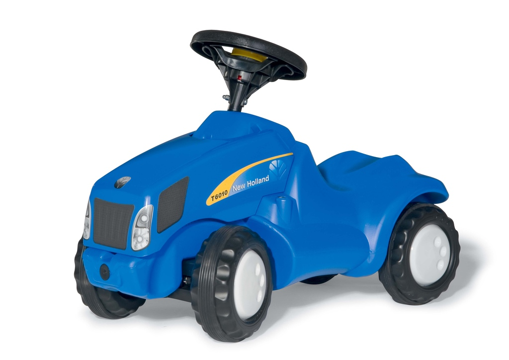 Primi passi trattore New Holland T6010
