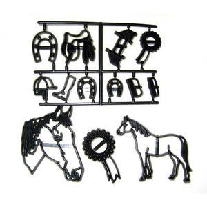 Stampo a impressione tema cavallo