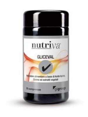 NUTRIVA GLICEVAL Compresse