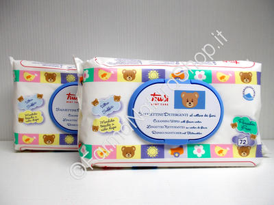 TRUDY Baby Care - Cleansing Wipes with Flower Nectar