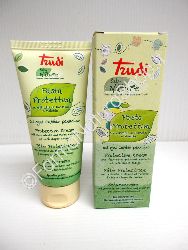 Copia di TRUDY Baby Care - Protective Ointment with zinc oxide and beeswax