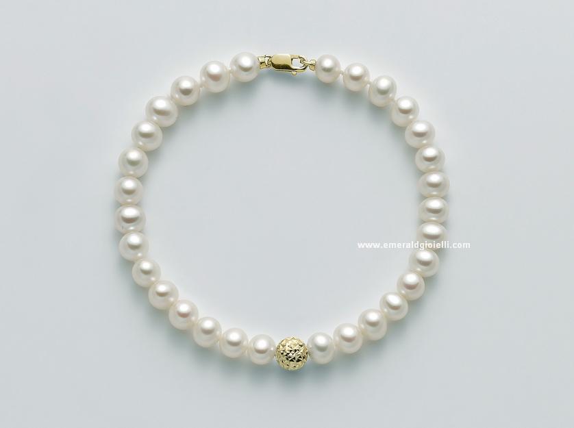 PBR2307G Bracciale di Perle Miluna