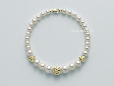 PBR2306G Bracciale di Perle Miluna -
