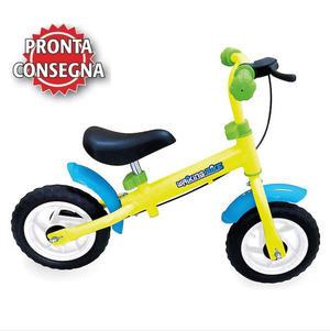 "Bicicletta senza pedali A Spinta ""Verde Mela"" della Legler"